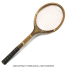 ヴィンテージラケット クレスト テニスラケット 木製 ウッドラケットの画像2
