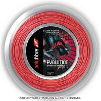 ポリファイバー(Polyfibre) エボリューション(Evolution) 1.30mm/1.25mm/1.20mm 200mロール ポリエステルストリングス レッド