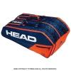 ヘッド(HEAD) 2019年モデル コア スーパーコンビ ラケット9本用 ブルー/オレンジ 国内未発売 テニスバッグ ラケットバッグ