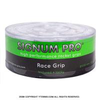 【新品アウトレット】シグナムプロ(SIGNUM PRO) レースグリップ(RACE GRIP) ホワイト 30パック 0.60mm オーバーグリップテープ
