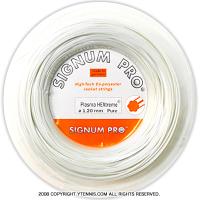 【新品アウトレット】シグナムプロ(SIGNUM PRO) プラズマ ヘキストリーム ピュア(Hextreme Pure) 1.30mm/1.25mm/1.20mm 200mロール ポリエステルストリングス ホワイト