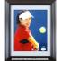 ジェン・ジー(鄭潔)選手 直筆サイン入り記念フォトパネル 2009年全米オープン JSA authentication認証 大会名:USオープンの画像1