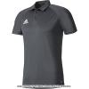 国内正規品 アディダス(Adidas) トレーニングポロシャツ ダークグレー/ブラック/ホワイト