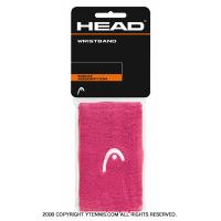 セール品 ヘッド(Head) 5インチ リストバンド ピンク/ホワイト
