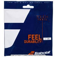 バボラ(BabolaT) トニック+ ボールフィール (1.35mmより細い) BT7 ナチュラル ストリングス Tonic+(プラス) テニス用品 パッケージ品