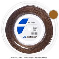 バボラ(Babolat) RPMパワー(RPM POWER) エレクトリックブラウン 1.30mm/1.25mm 200mロール ポリエステルストリングス