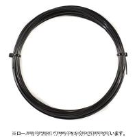 【12mカット品】ゴーセン(GOSEN) ポリブレイク(POLYBREAK) ブラック 1.20mm/1.24mm ポリエステルストリングス テニス ガット ノンパッケージ