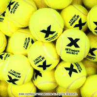 トレトン(Tretorn) マイクロエックス micro X ノンプレッシャー テニスボール 96個セット イエロー×イエロー