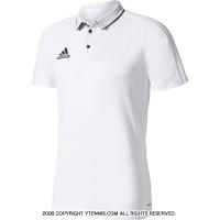 国内正規品 アディダス(Adidas) トレーニングポロシャツ ホワイト/ブラック