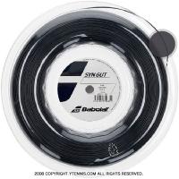 【新パッケージ】バボラ(BabolaT)シンセティックガット 1.35mm/1.30mm/1.25mm ブラック (Synthetic Gut Black) ナイロンストリングス 200m ロール