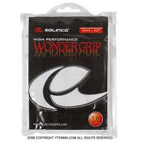 ソリンコ(Solinco) ワンダーグリップ(WONDER GRIP) ホワイト 12パック オーバーグリップテープ