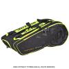 ダンロップ(Dunlop) DAC NT テニスバッグ ラケット12本収納 ブラック/イエロー ラケットバッグ