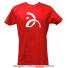 セール品 ノバクジョコビッチファウンデーション(NDF) ONE Tシャツ レッドの画像4