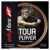 【在庫処分特価】ポリファイバー(Polyfibre) ツアープレイヤー ラフ(Tour Player Rough) ナチュラルカラー 1.25mm ポリエステルストリングス テニス ガット パッケージ品