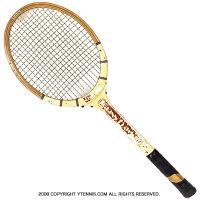 ヴィンテージラケット ウイルソン(WILSON) ジミー・コナーズ コンステレーション Jimmy Connors constellation 木製 テニスラケット