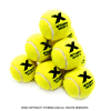 トレトン(Tretorn) マイクロエックス micro X ノンプレッシャー テニスボール 12個セット イエロー×イエロー