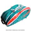 セール品 【超激レアモデル!】トップスピン(TOPSPIN) 海外限定カラー サーモ機能付 Tourtex テニスバッグ 12本用 ターコイズ/オレンジ 国内未発売 ラケットバッグ