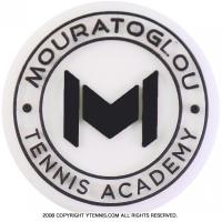 ムラトグルー Tennis Academy(MOURATOGLOU) ショックアブソーバー 振動止め ダンプナー ブラック/ホワイト ノンパッケージ