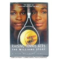 ウィリアムズ姉妹 RAISING TENNIS ACES THE WILLIAMS STORY テニスDVD
