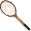 ウイルソン(WILSON) ヴィンテージラケット ストロークマスター テニスラケット 木製 ウッドラケット