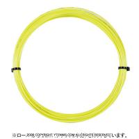 【12mカット品】ポリファイバー(Polyfibre) TCS ラフ(TCS ROUGH) 1.30mm/1.25m ポリエステルストリングス イエロー テニス ガット ノンパッケージ