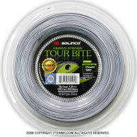 ソリンコ(SOLINCO) ツアーバイトソフト(Tour Bite Soft) 1.30mm/1.25mm/1.20mm/1.15mm 200mロール ポリエステルストリングス グレー