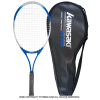 カワサキ(KAWASAKI) KR-600 硬式テニスラケット ケース付き 27インチ ガット張り上げ済み 部活・クラブ・遊び・レジャー・初心者用アルミラケット