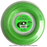 ソリンコ(SOLINCO) ハイパーG(HYPER-G) 1.30mm/1.25mm/1.20mm/1.15mm/1.10mm/1.05mm 200mロール ポリエステルストリングス フラッシュグリーン