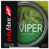 【在庫処分特価】ポリファイバー(Polyfibre) ヴァイパー(Viper) シルバー 1.20mm/1.25mm/1.30mm ポリエステルストリングス テニス ガット パッケージ品