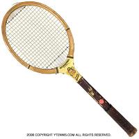 ヴィンテージラケット ウイルソン(WILSON) ブルース・バーナー インターナショナル Bruce Burner INTERNATIONAL MODEL 木製 テニスラケット