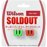ウイルソン(Wilson)プロ フィール(Pro Feel) グリーン/レッド 振動止め ダンプナー