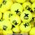 トレトン(Tretorn) マイクロエックス micro X ノンプレッシャー テニスボール 96個セット イエロー×イエローの画像