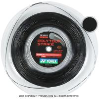 ヨネックス(YONEX) ポリツアーストライク(Poly Tour STRIKE) ブラック 1.20mm/1.25mm/1.30mm 200mロール ポリエステルストリングス