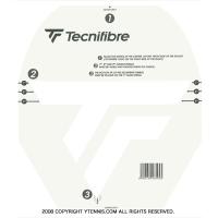【テニスラケットにメーカーロゴを入れる型紙】テクニファイバー(Tecnifibre) NEW ロゴステンシルシート