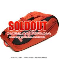 セール品 ヘッド(Head) レッド モンスターコンビ 海外限定モデル 15本用 テニスバッグ ラケットバッグ