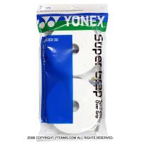 ヨネックス(YONEX) スーパーグリップ オーバーグリップ 30パック ホワイト