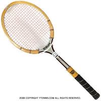 ヴィンテージラケット ウイルソン(WILSON) ジミー・コナーズ チャンプ Jimmy Connors Champ 木製 テニスラケット