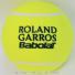 バボラ(BabolaT)×フレンチオープン ローランギャロス 5インチ ミニジャンボテニスボール イエロー 全仏オープンテニス 国内未発売の画像1