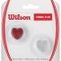 ウイルソン(Wilson) ビブラファン グリッターハート レッド/シルバー ダンプナー 振動止めの画像1