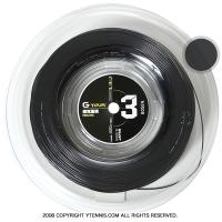 ゴーセン(GOSEN) Gツアー3(G-TOUR 3) ブラック 1.18mm/1.23mm/1.28mm 220mロール
