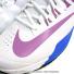 ナイキ(Nike) ラファエル・ナダルシグネチャーモデル ルナバリスティック ホワイト/フォトブルー/ライトマゼンタ テニスシューズの画像5