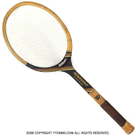 ヴィンテージラケット ウイルソン(WILSON) ジミー・コナーズ チャンピオン Jimmy Connors Champion 木製 テニスラケット