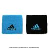 アディダス(adidas) シングルワイド リストバンド サンバブルー/ブラック S97906