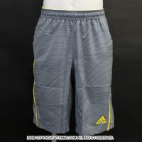 アディダス(adidas)アディゼロ バミューダショート グレー