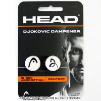 【ジョコビッチ使用モデル!!】ヘッド(HEAD) ジョコビッチ ダンプナー 振動止め テニスラケット ホワイト/ブラック