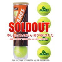 ダンロップ(DUNLOP) セントジェームス(St.JAMES) 1本4球入 テニスボール