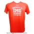 アンダーアーマー(UNDER ARMOUR)×IMG(ニック・ボロテリー テニスアカデミー) Property of IMGメンズ Tシャツ ヒートギア オレンジの画像1