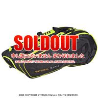 セール品 ダンロップ(Dunlop) DAC NT テニスバッグ ラケット12本収納 ブラック/イエロー ラケットバッグ