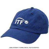 セール品 国際テニス連盟(ITF)オフィシャル キャップ ミッドブルー