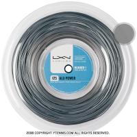ルキシロン(LUXILON) アルパワー(ALU POWER) グレー 200mロール 1.15mm/1.20mm/1.25mm/1.30mm/1.38mm ポリエステルストリングス